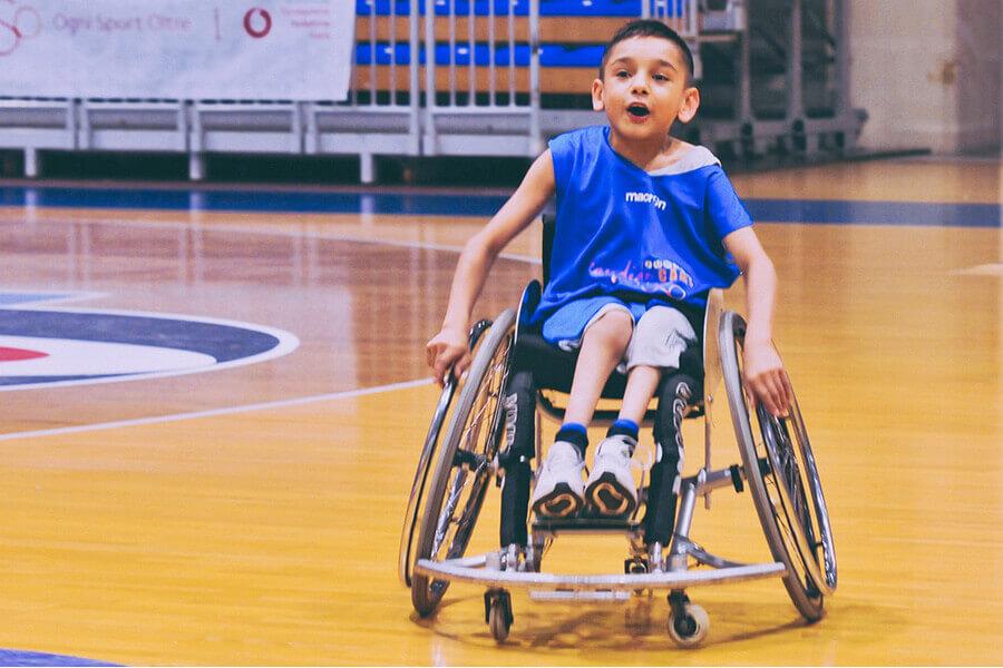 Basket paralimpico