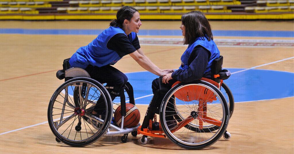 Candido Junior Camp Padova basket in carrozzina ragazzi disabili